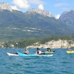 Lac d'Annecy (sept 2014) et Massif des Bornes