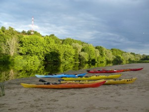 30 mai 20h22 - Germigny-sur-Loire - Bivouac  - kayaks