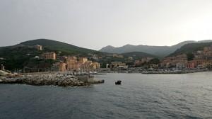 Arrivée au port de Rio Marina