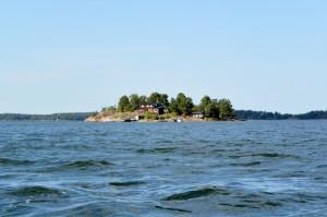 île et sa maison