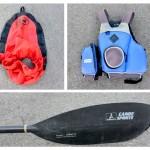 matériel de kayak de mer