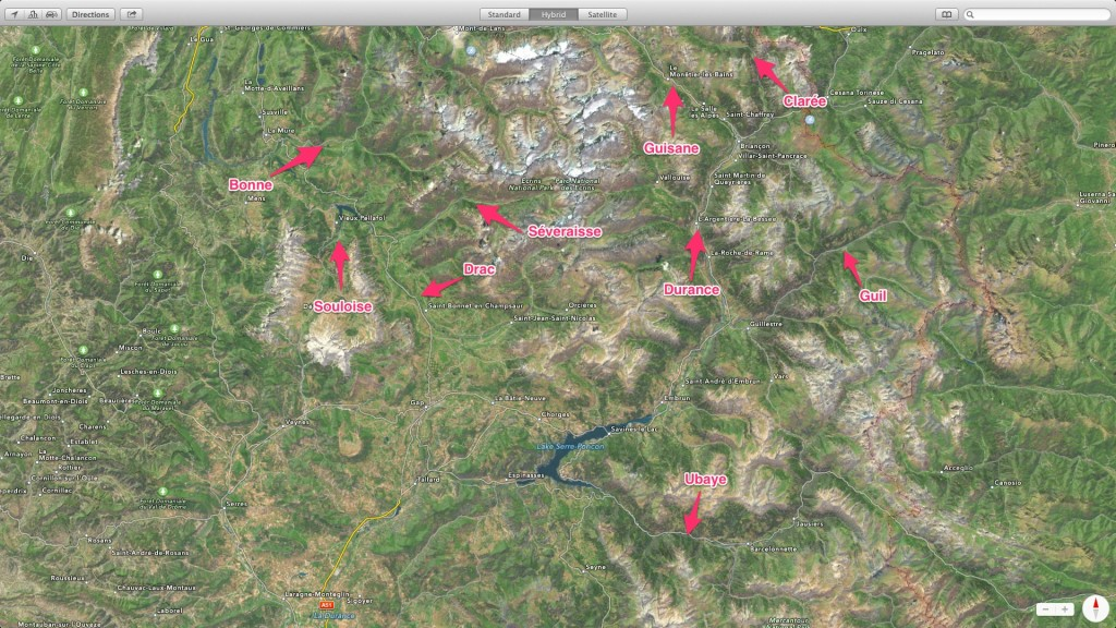 Rivières des Hautes Alpes
