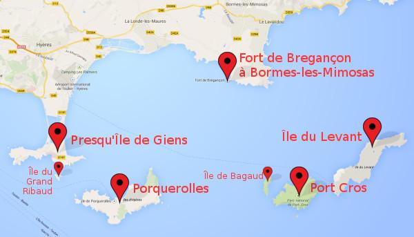 Plan De La Ville De Hy Ef Bf Bdres Les Palmiers