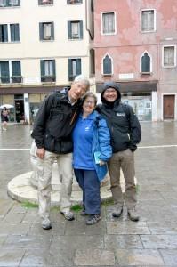 Hervé, Claire et Eric