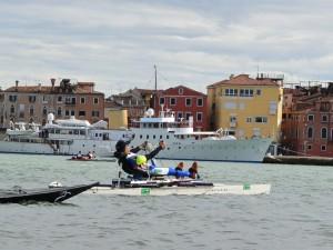 Vogalonga - Canal Saint-Marc - quartier Castello - waterbike
