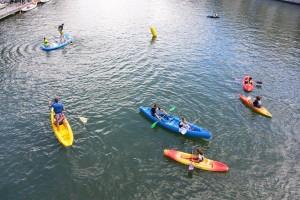 initiation kayak, canoë, SUP