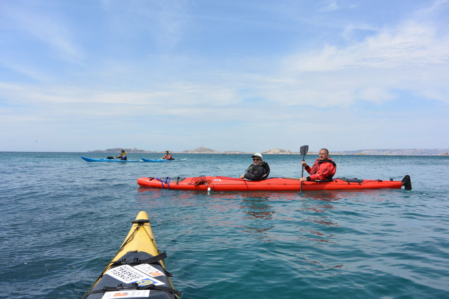 Weekend kayak de mer marseille les frioul 5 8 mai - Navette vieux port pointe rouge marseille ...