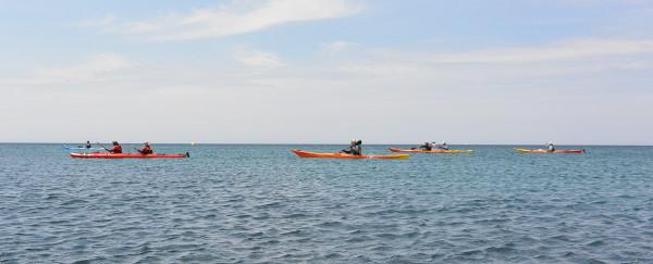 Rando kayak à Marseille