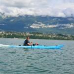 Julien sur le Lac du Bourget (juin 2016)