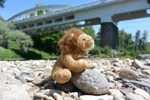 Cékalomi et le pont Pakowski à Le Breuil-sur-Couze