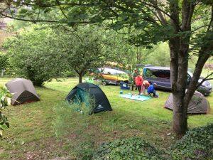 Camping de l'escargot bleu à Prades