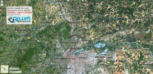 Descente de la Saône de Trévoux à Lyon