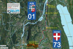 Haut Rhône de Chanaz à La Balme