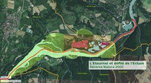 Zone Natura 2000 à Pougny : l'Étournel