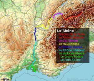 Le Rhône en détails