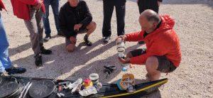 Étude du matériel à emporter dans le kayak