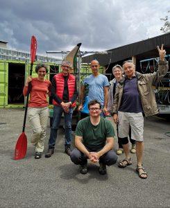 Le groupe au départ de Lyon