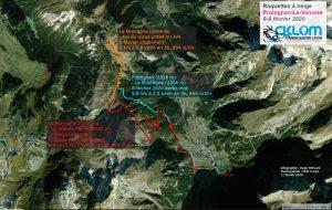 Itinéraire raquettes à Pralognan-La-Vanoise